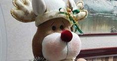 Blog voltado à artesanato em geral. Mary Christmas, Christmas Gingerbread Men, Xmas, Christmas Ornaments, Rena, Your Favorite, Diy, Holiday Decor, Blog
