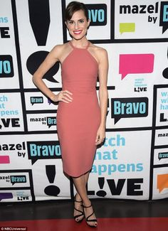 Allison Williams at Watch What Happens Live