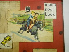 Ride 14 - Original COLLAGE -  Book Ends Collages. $35.00, via Etsy.