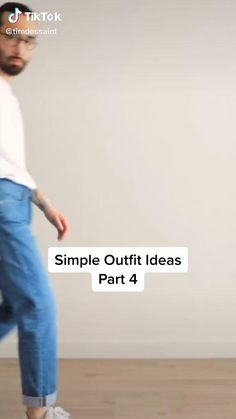 Mens Casual Dress Outfits, Cool Outfits For Men, Simple Casual Outfits, Stylish Mens Outfits, Blue Jeans Outfit Men, Minimalist Wardrobe Men, Capsule Wardrobe Casual, Asian Men Fashion, Men Style Tips
