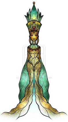 Isis by mandiemanzano on DeviantArt Osiris Isis, Wicca, Isis Goddess, Divine Goddess, Sacred Feminine, Egyptian Art, Gods And Goddesses, African Art, Black Art