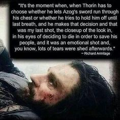 Richard Armitage/ Thorin Oakenshield