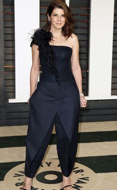 ffb04bda7a Marissa Tomer s blue number was not flattering and fell flat at the 2015  Vanity Fair Oscar