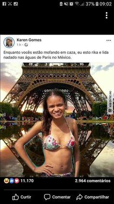 Paris no México kkkkkjjjkkk Top Memes, Best Memes, Dankest Memes, Jokes, Whatsapp Group Funny, Guys My Age, Memes Status, Artsy Photos, Just Smile