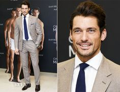 David Gandy In Marks and Spencer - David Gandy For M&S Autograph Photocall