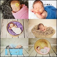 Faux Fur & Wrap Prop Package -  Newborn Baby Boy or Girl Photography Maternity Photo Prop. $33.00, via Etsy.