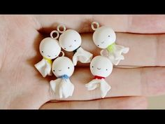 ▶ Teruteru Bozu Rain Doll Clay Tutorial - YouTube