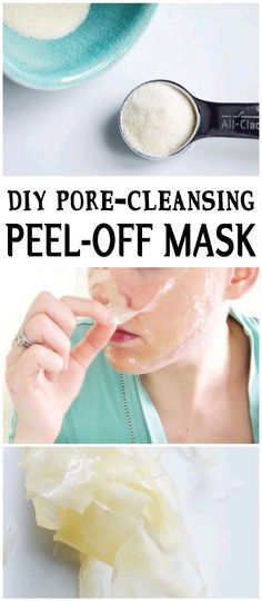 It was so satisfying and I get the same sort of gratification when I use this DIY peel-off mask on my face! As a bonus, (as if just peeling something