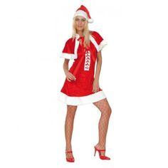 Weihnachten St. Nikolaus sexy Weihnachtsfrau Kostüm