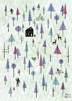 Wanderlust 1 (Claire Mojher, Artist)