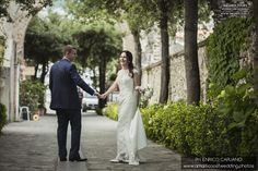 Ravello elopement wedding in the town hall garden principessa di piemonte local wedding planner Mario Capuano and professional wedding photographer Enrico Capuano. A Ravello dream http://www.amalficoastwedding.photos/