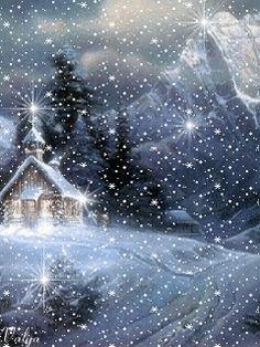 Зима - анимация на телефон №1106248