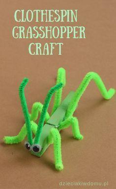 clothespin grasshopp