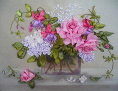 Gallery.ru / Фото #5 - Розы и фуксия - marishka-pechory