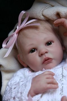 Shannon by Anne Timmerman - Online Store - City of Reborn Angels Supplier of Reborn Doll Kits and Supplies