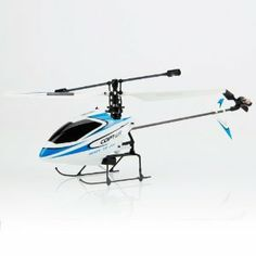 New V911 4Channel 2.4GHz Remote Control Single Propeller Helicopter Blue and White by Crazy Cart. $25.95. Features: 1. It is very easy to control 2. A fantastic gift for your kid 3. It will bring your kid lots of fun 4. Beautiful and classic toy 5. It will be a good companion of your kid 6. It will give your kid unforgettable memory on special days  Specifications: 1. Model: V911 2. Channel: 4 3. Control Mode: 2.4GHz Remote Control 4. Remote Distance: 25-35 mete...