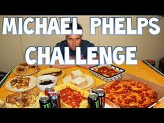 Furious Pete, a competitive eater, takes on the Michael Phelps Diet Challenge by eating 12,000 calories in 30 minutes.
