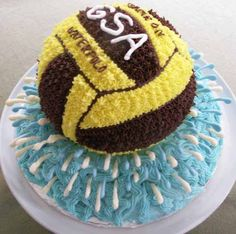 This waterpolo ball helped the Girl Scouts of America celebrate a spectacular sports night!