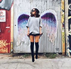 Jump and you will find out how to unfold your wings as you fall. - #RayBradbury by @brandonosorio
