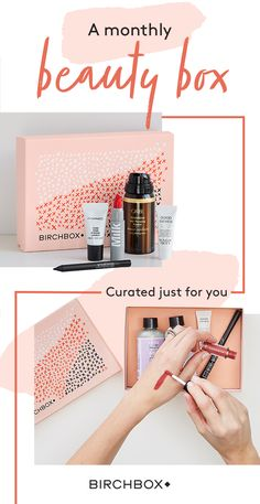 Join Birchbox for a personalized mix of 5 hair, makeup, skincare, and fragrance samples for $10/month.