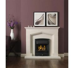 Popular design Kendal from gallery collection, is available in limestone, complete package with bauhaus gas fire is only available for £720 onlline.   www.lovefireplaces.co.uk offers unbeatable prices,