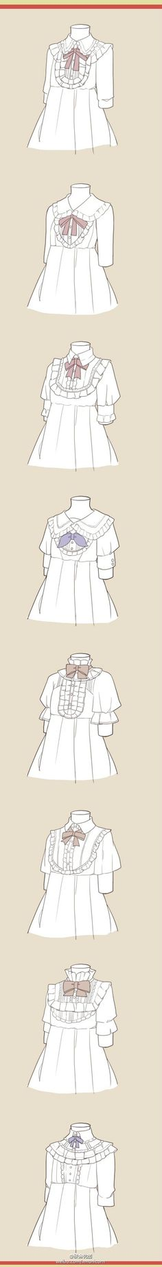 frilly ans fancy dresses and tops