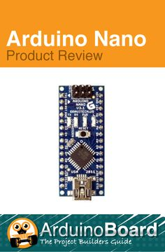 Arduino Nano Board | Product Review #arduino #arduinoprojects - CLICK HERE to learn more - http://arduino-board.com/boards/arduino-nano