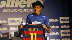 Neymar Jr se convierte en embajador de Gillette para América Latina
