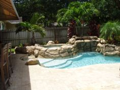 Mini Pools For Small Backyards | Rock Pools | Natural Springs Pools