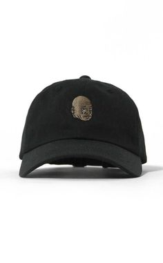 73686442feb The famous iconic crying Jordan face memes illustrated into a simple clean  small embroidery on cotton twill premium dad hat baseball cap in black.