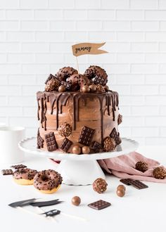 Nutella-Schoko-Torte