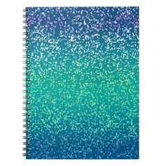 SOLD Notebook Glitter Graphic Background! #Zazzlw #Notebook #Glitter #Graphic #Background http://www.zazzle.com/notebook_glitter_graphic_background-130672937497614662