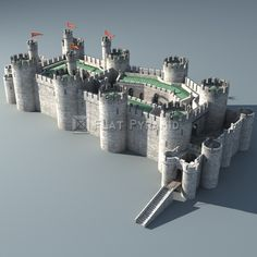 Conwy Castle Model available on Turbo Squid, the world's leading provider of digital models for visualization, films, television, and games. Model Castle, Toy Castle, Castle House, Medieval Fortress, Medieval Knight, Medieval Fantasy, 3d Model Architecture, Historical Architecture, Chateau Fort Jouet