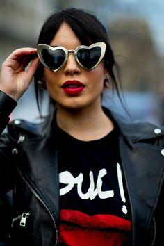Heart Eyes - Flawless Street Style Snaps From Paris Fashion Week, Fall 2018  - Photos f428b3267b