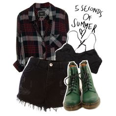 How To Wear 5 seconds of summer Concert Outfit Idea 2017 - Fashion Trends Ready To Wear For Plus Size, Curvy Women Over 20, 30, 40, 50