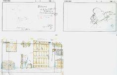 Film: Spirited Away (千と千尋の神隠し) ===== Layout Design - Scene: Trying To Remember ===== Hayao Miyazaki