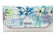 GUESS Casey Slim Clutch WalletCapri Multi -- Be sure to check out this awesome product.