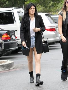 September 20, 2013 -Kylie Jenner hanging out in Calabasas.
