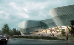 playze and Schmidhuber Selected to Design Ningbo Urban Planning Museum