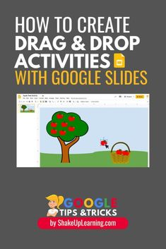In this video and podcast episode, I'm going to share with you a little-known secret--how to create drag and drop activities with Google Slides. Interactive Activities, Classroom Activities, Learning Activities, Learning Quotes, Classroom Teacher, Teacher Binder, Teaching Technology, Educational Technology, Medical Technology