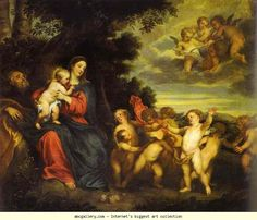 Anthony van Dyck. The Rest on the Flight to Egypt.