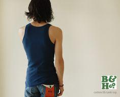 【楽天市場】B ビーアンドエイチ コットン リブタンクトップ・rdb10025(全5色)(S・M):Crouka LR(クローカ エルアール)