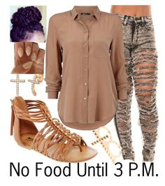 """No Food~~"" by ja-la ❤ liked on Polyvore featuring Allurez, Arizona and 2b bebe"