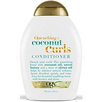 The OGX® Coconut Curls conditioner is a coconut oil conditioner infused with sweet honey and citrus oil to help nourish & soften hair and enhance curls. Coconut Oil Conditioner, Coconut Shampoo, Hair Conditioner, Curl Shampoo, Shampoo For Curly Hair, Ogx Shampoo, Wet Hair, Blond, Soften Hair