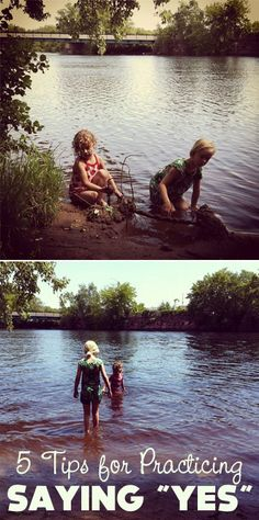 Would you let your kids go into the river (lake, ocean, pond) in their clothes?