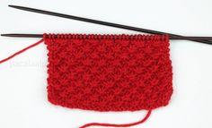 Cómo Tejer Punto de Estrella - Aprende a Tejer Punto de Estrella a Dos Agujas en el Blog Para Aprender a Tejer de Paca La Alpaca Knitting Stitches, Blog, Knit Crochet, Diy Crafts, Accessories, Kraken, Tube, Knitting Patterns, Costumes