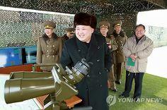 북한 김정은, 서해 섬 타격·상륙 연습 시찰