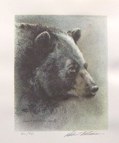 Robert Bateman Black Bear