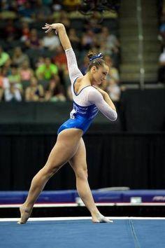 Maggie Nichols--2014 P&G Championships day two