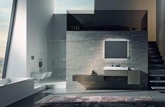 De Sphinx 420 badkamerserie omvat een breed assortiment van wastafels, fonteinen, closets, bidets, meubels en lichtspiegels.